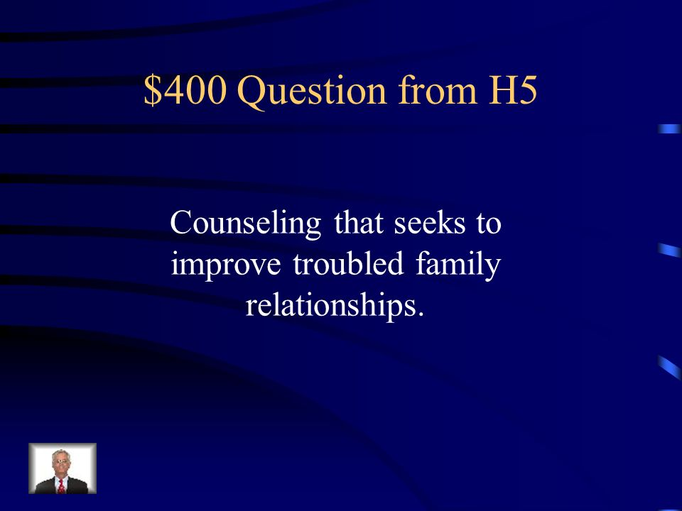 $300 Answer from H5 Psychologist