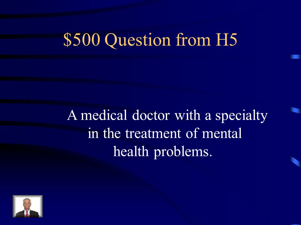 $400 Answer from H5 Family Therapy