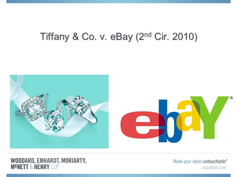 Tiffany & Co. v. eBay (2 nd Cir. 2010)