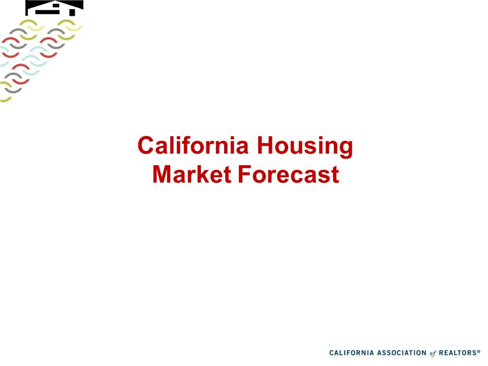 California Housing Market Forecast