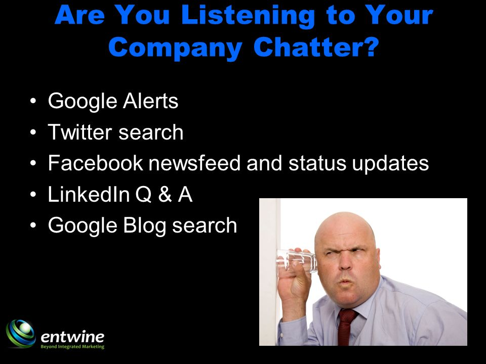 Are You Listening to Your Company Chatter.
