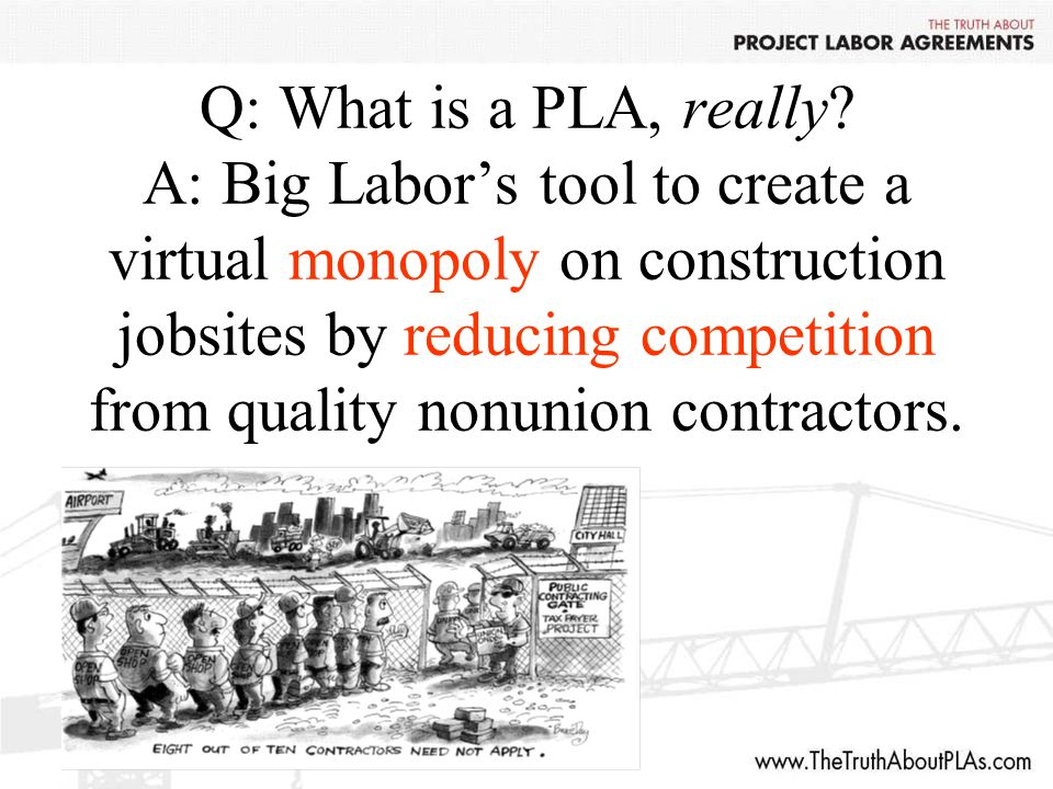 Q: What is a PLA, really.
