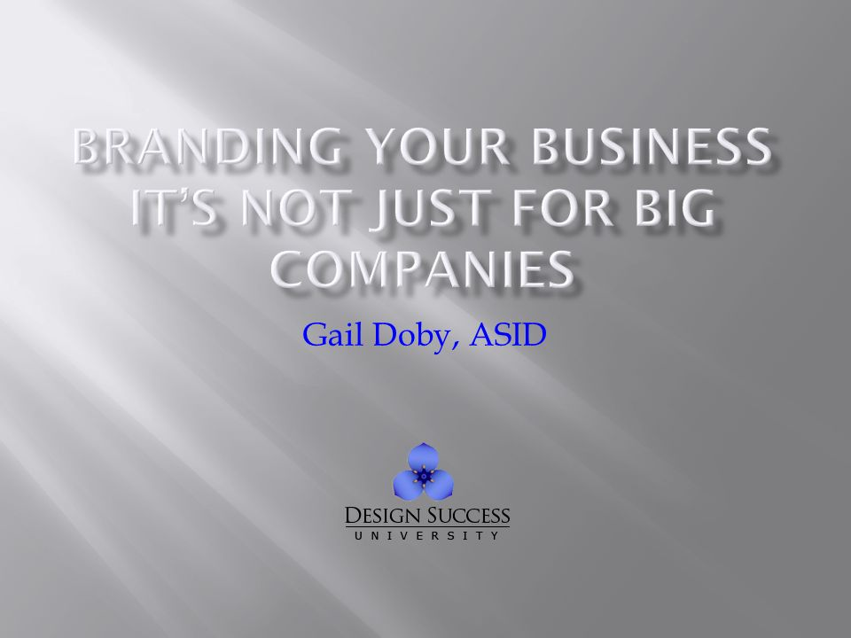 Gail Doby, ASID