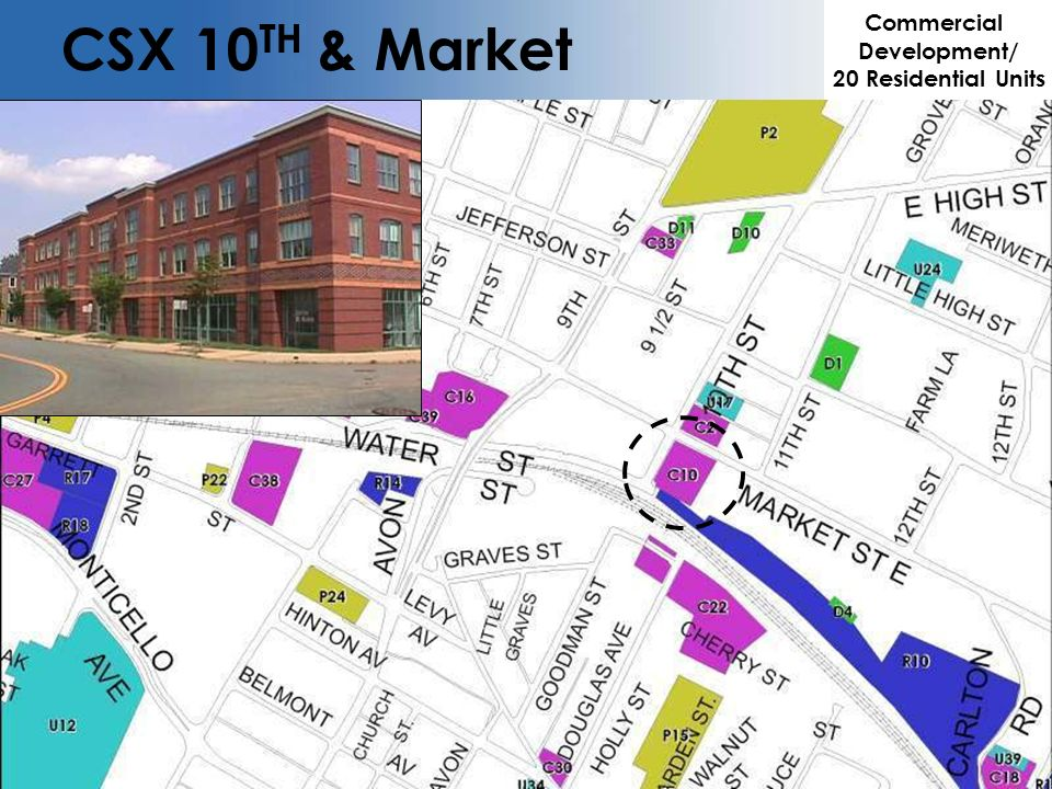 CSX 10 TH & Market Commercial Development/ 20 Residential Units