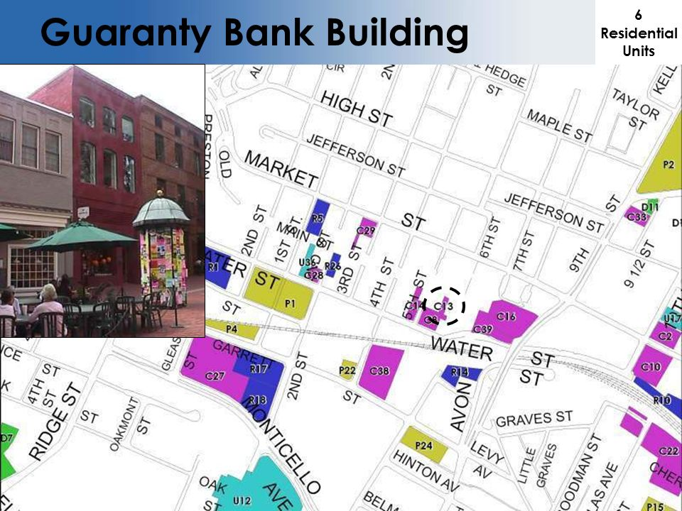 6 Residential Units Guaranty Bank Building