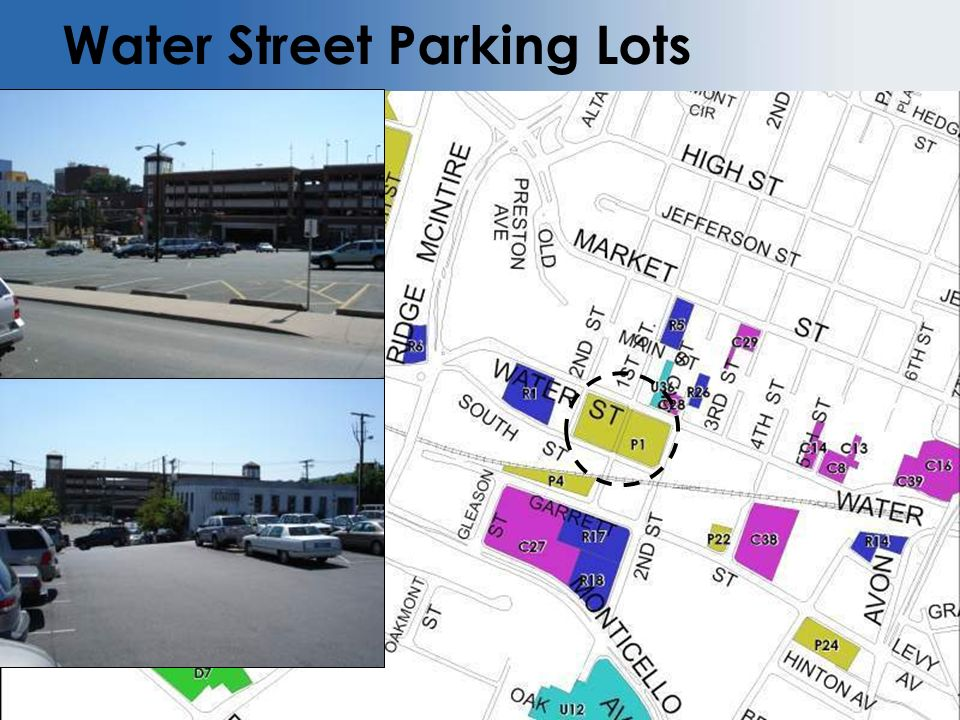 Water Street Parking Lots Insert Picture