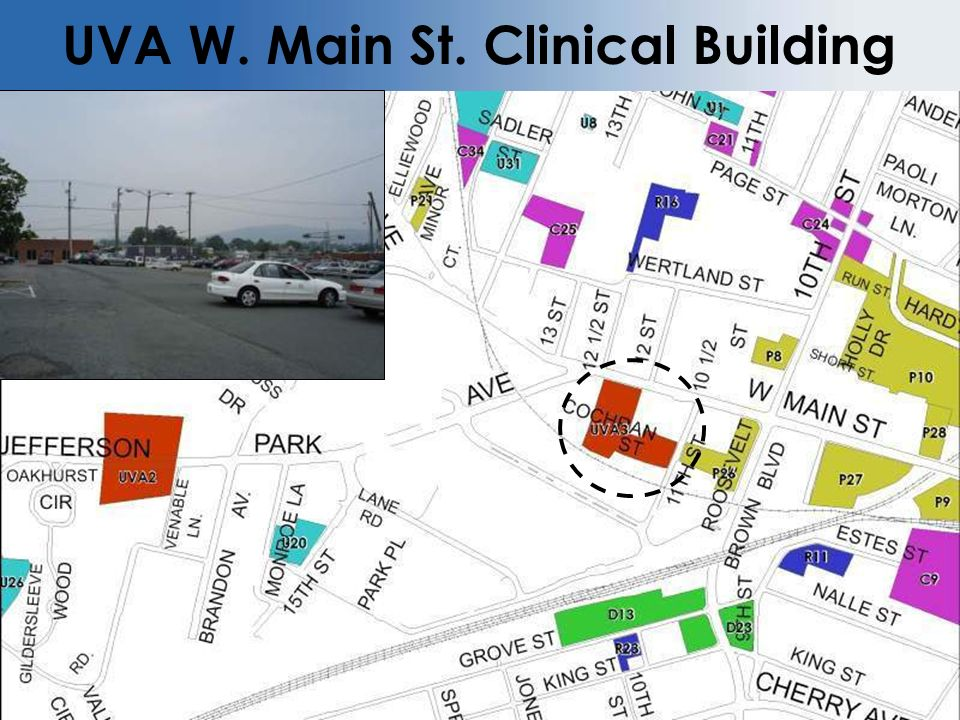 UVA W. Main St. Clinical Building