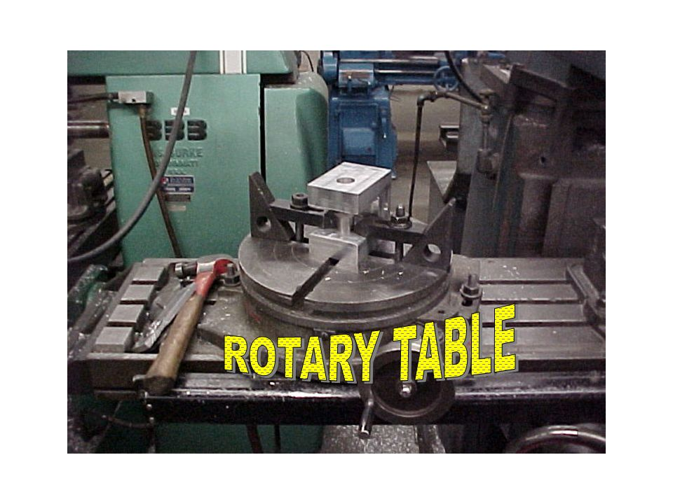 Machining-rotary table
