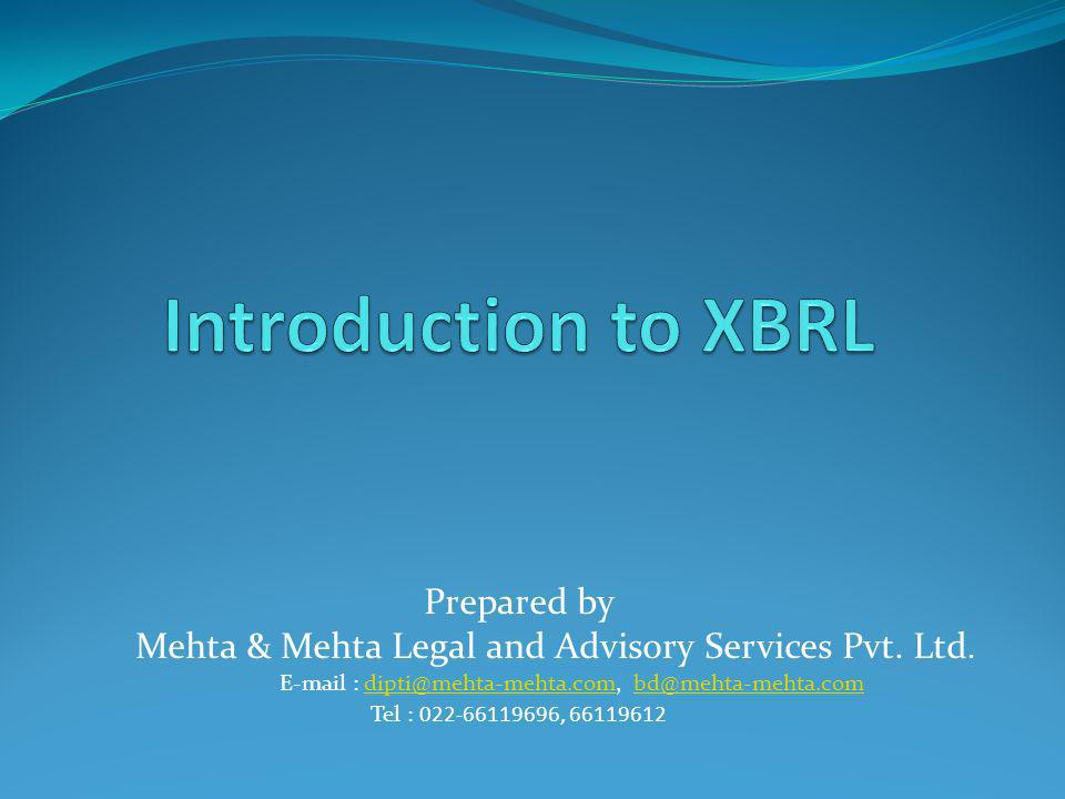 Prepared by Mehta & Mehta Legal and Advisory Services Pvt.
