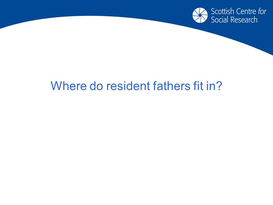 Where do resident fathers fit in