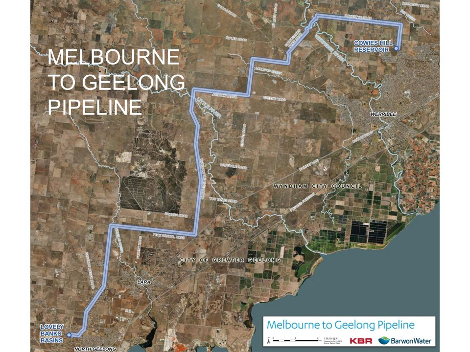 MELBOURNE TO GEELONG PIPELINE