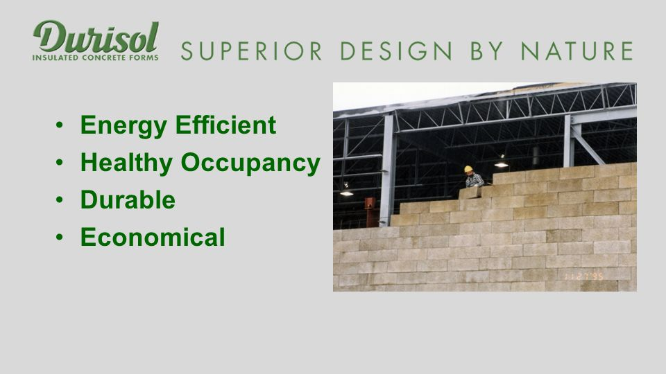 Energy Efficient Healthy Occupancy Durable Economical