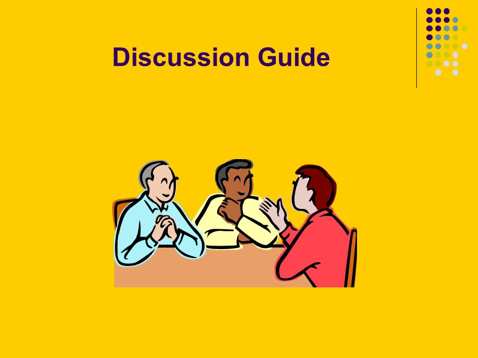 Discussion Guide
