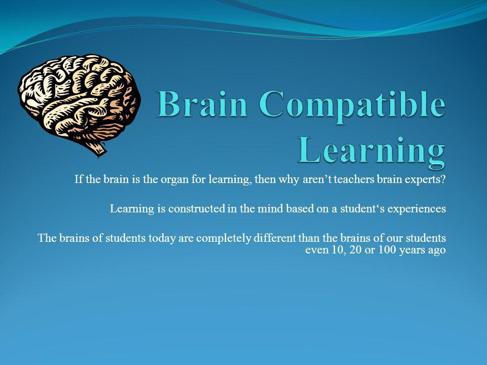 If the brain is the organ for learning, then why arent teachers brain experts.