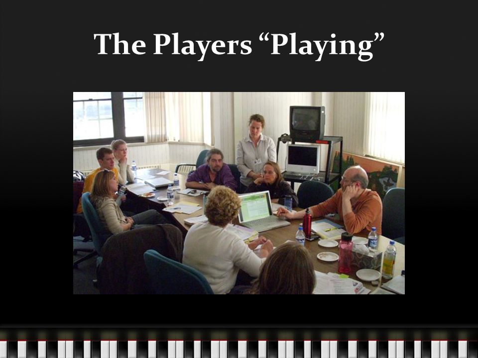 The Players Playing