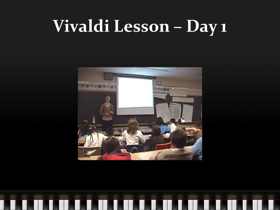 Vivaldi Lesson – Day 1