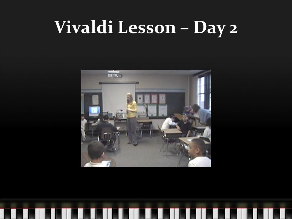 Vivaldi Lesson – Day 2