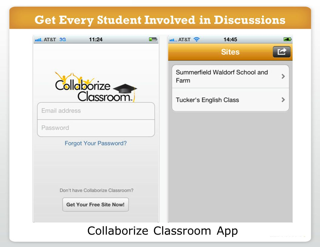 Get Every Student Involved in Discussions Collaborize Classroom App Get Every Student Involved in Discussions