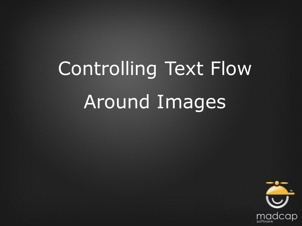 Controlling Text Flow Around Images