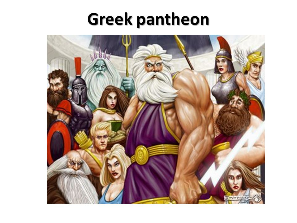 Greek pantheon