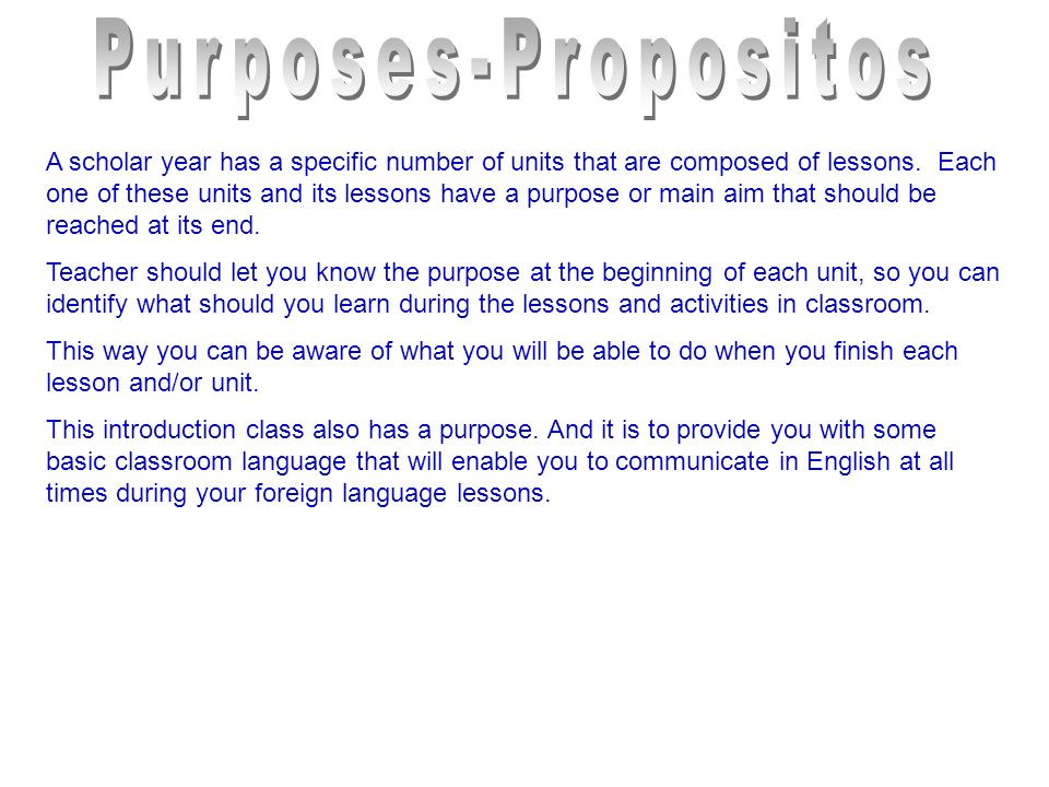 A scholar year has a specific number of units that are composed of lessons.