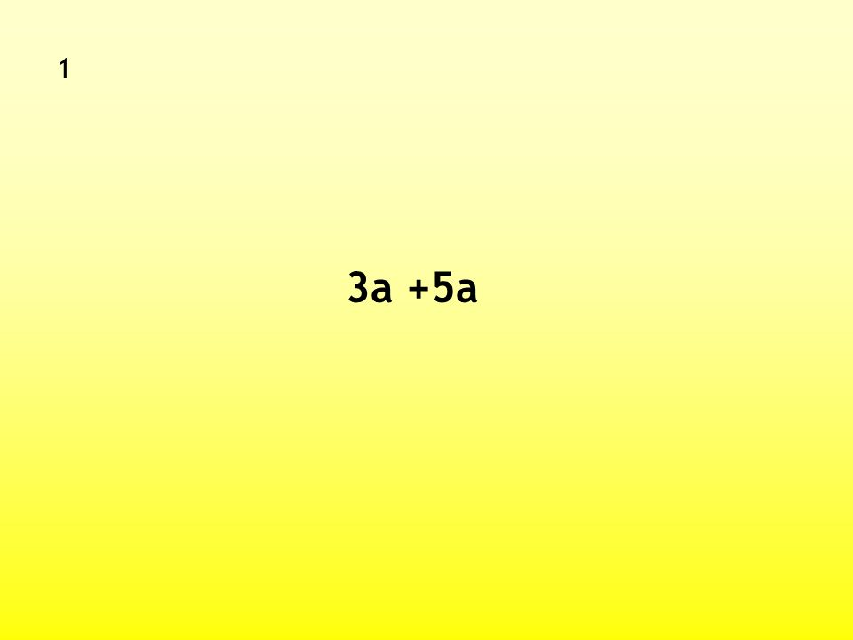 Mental Algebra Starter You have 10 seconds for each question (1 – 10)