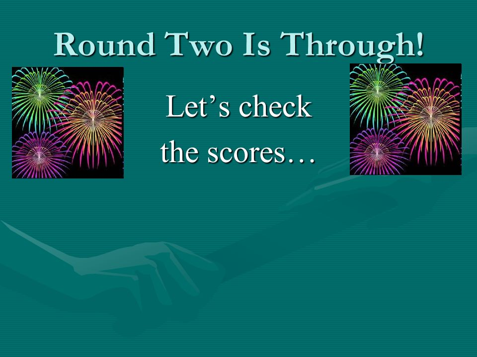 Round Two Is Through! Lets check the scores…