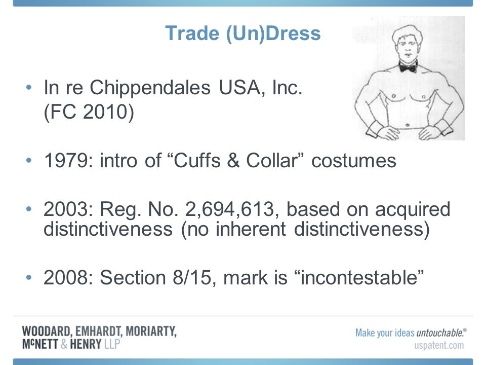 Trade (Un)Dress In re Chippendales USA, Inc.