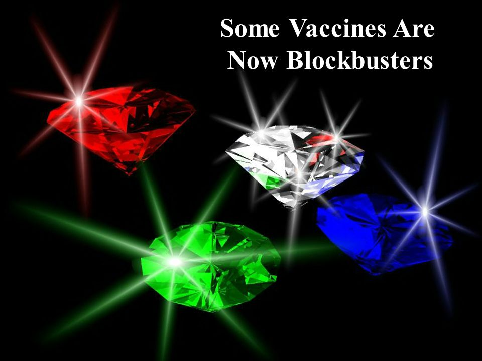 Some Vaccines Are Now Blockbusters