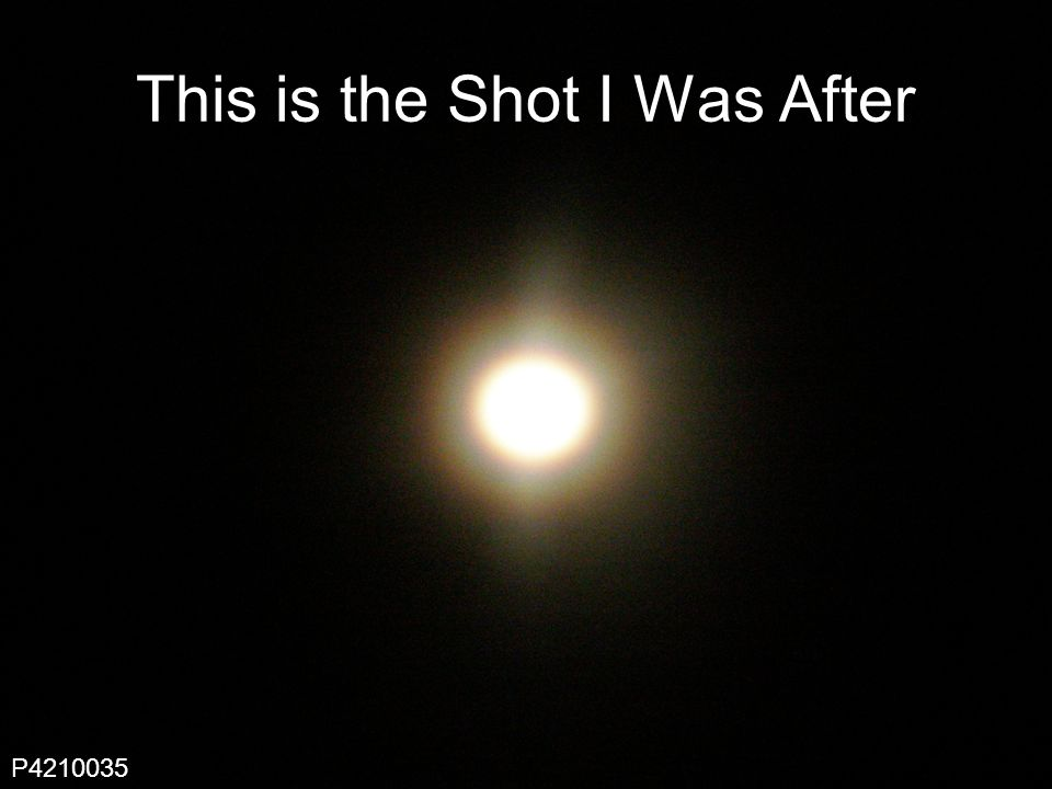 10 This is the Shot I Was After P
