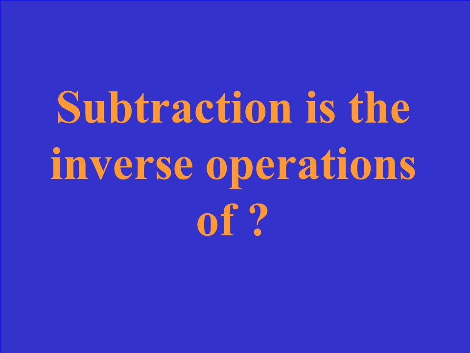 What is the solution of an equation