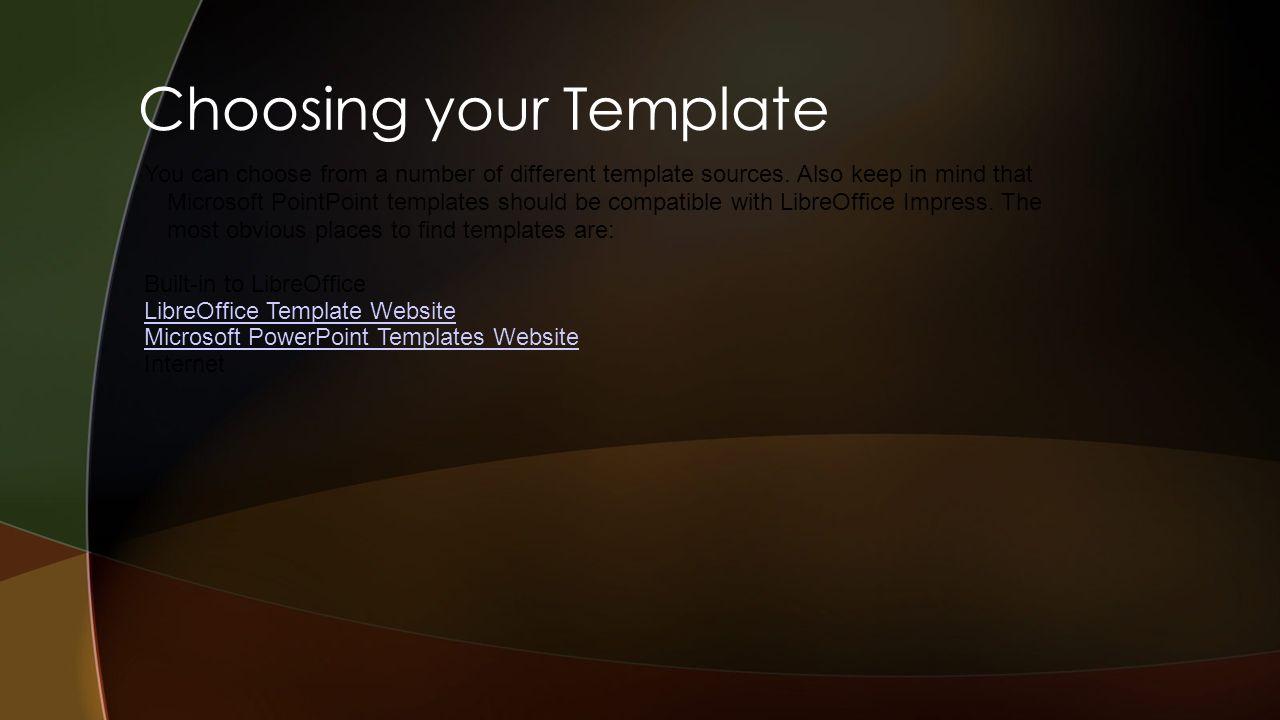 presentedaaron johnson intro to libreoffice impress jordan, Template Libreoffice Presentation, Presentation templates