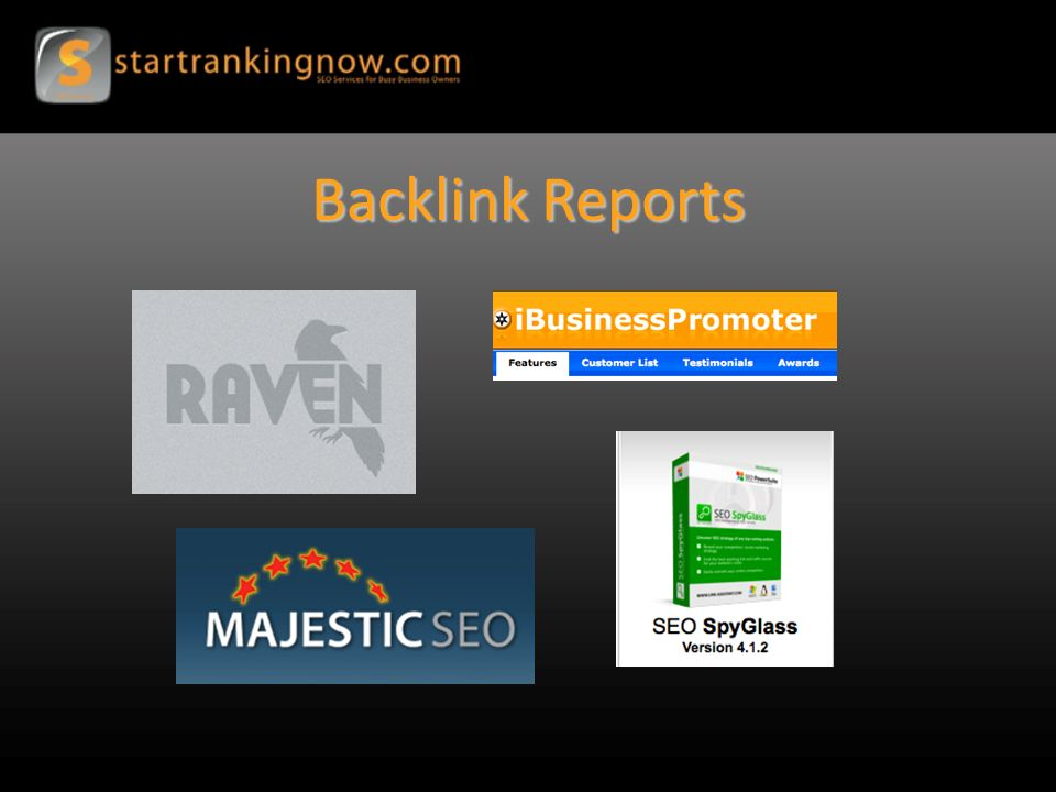 Backlink Reports