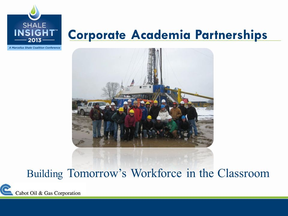 Building Tomorrows Workforce in the Classroom Corporate Academia Partnerships
