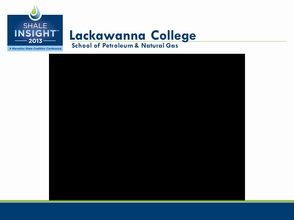 Lackawanna College School of Petroleum & Natural Gas