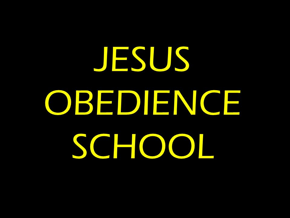 JESUS OBEDIENCE SCHOOL