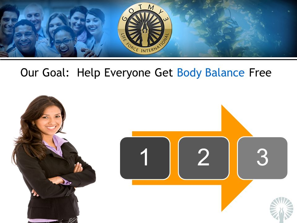 Our Goal: Help Everyone Get Body Balance Free 123