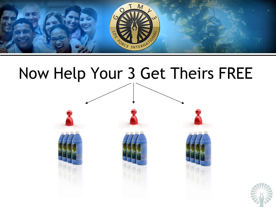 Now Help Your 3 Get Theirs FREE