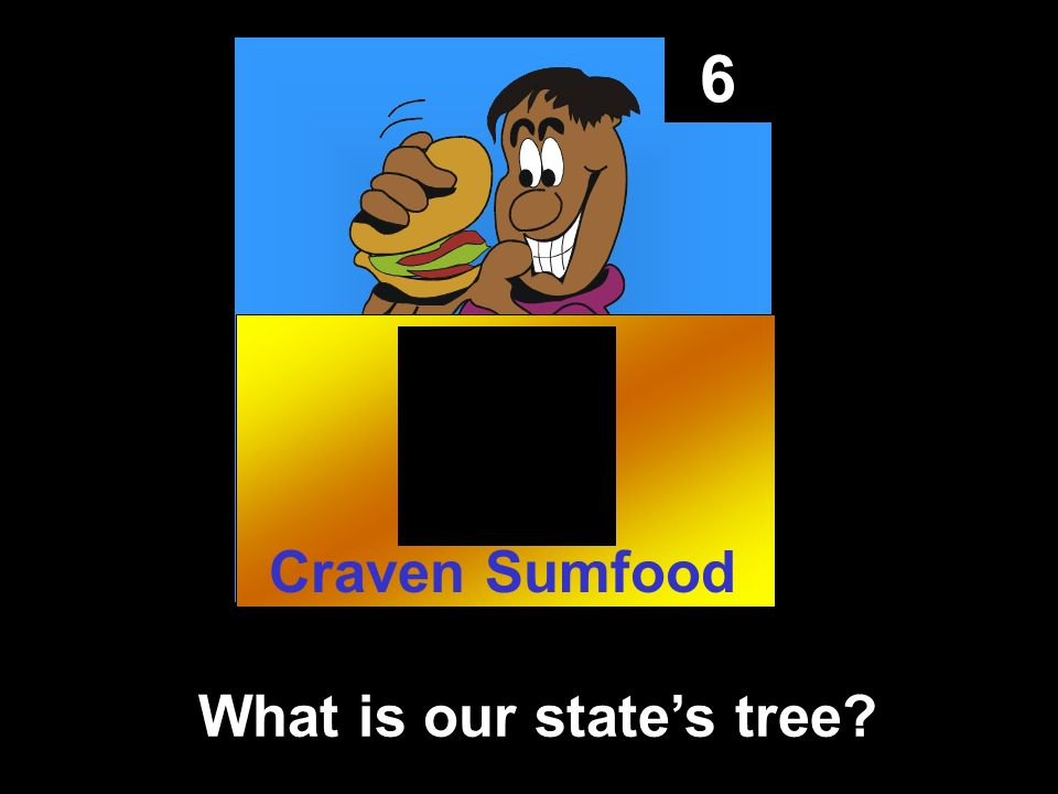 6 What is our states tree Craven Sumfood