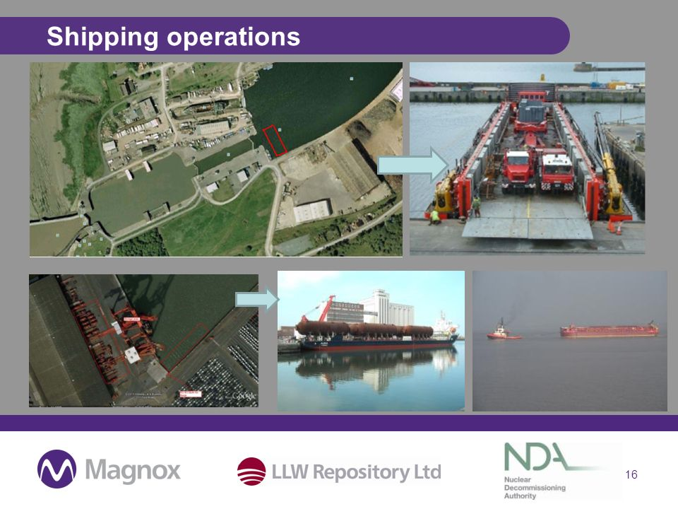 Shipping operations 16