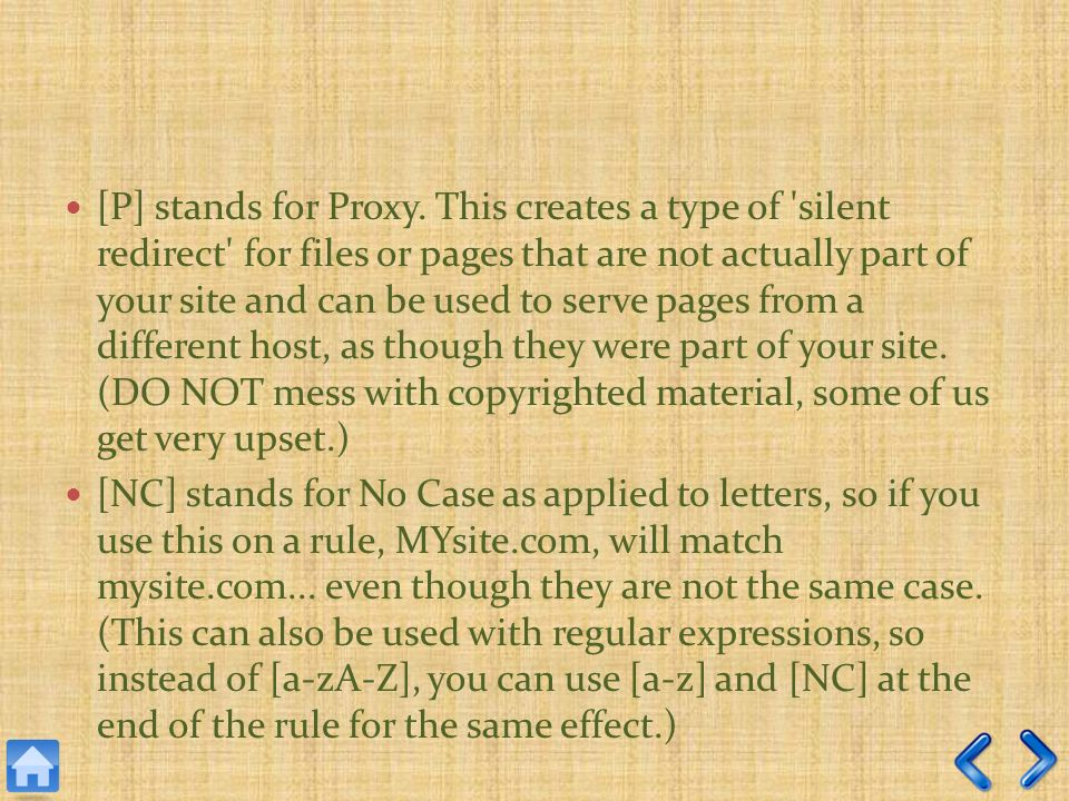 [P] stands for Proxy.