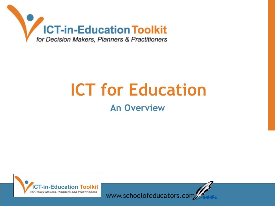 ICT for Education An Overview