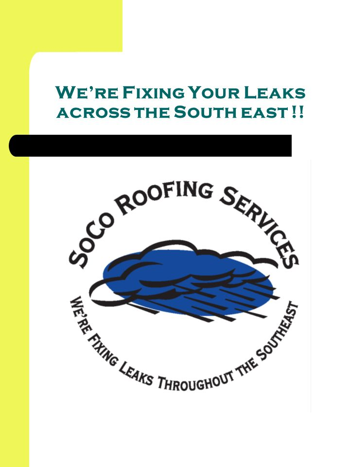 Were Fixing Your Leaks across the South east !!