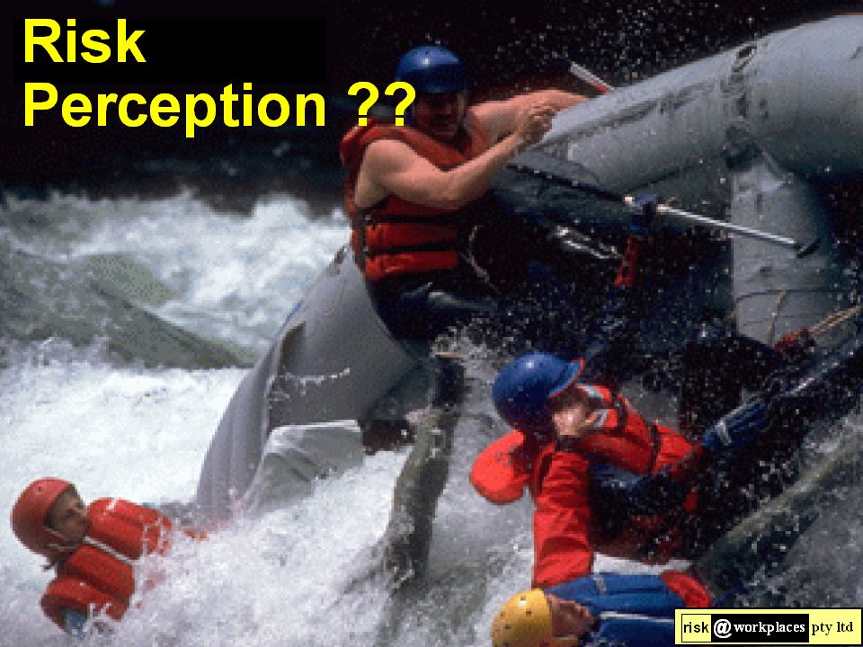 Risk Perception is Risk Reality !!