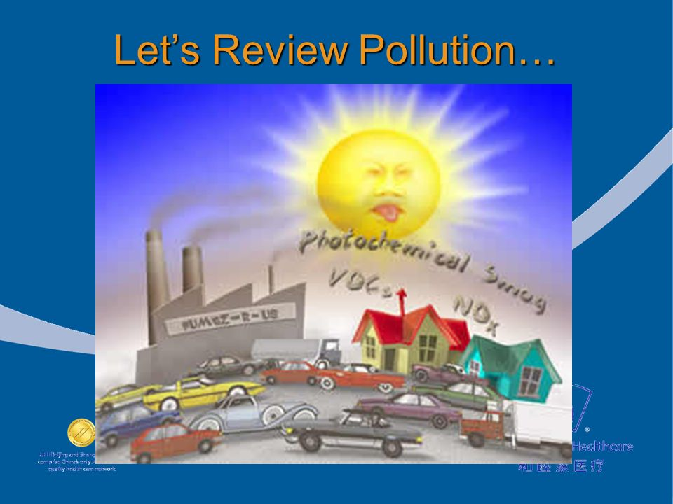 Lets Review Pollution…