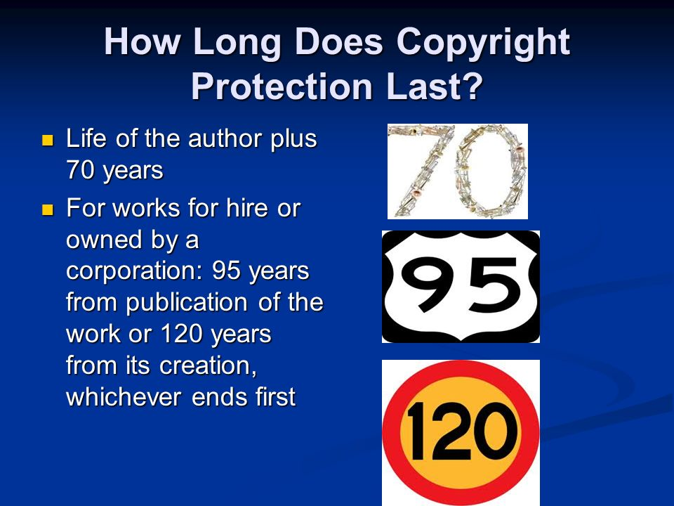 Copyright. Who Owns the Copyright.