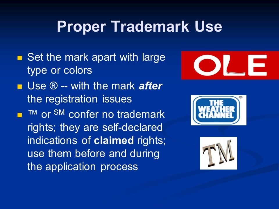 Stay Away From Descriptive Marks Descriptive terms like Windows® only give rise to trademark rights after consumers associate them with a specific sourceusually only after years of expensive advertising Generic marks describe the product and are not marks at all.