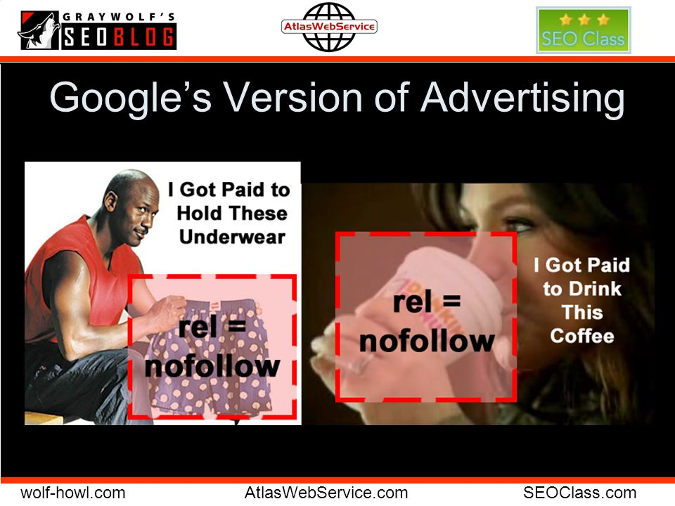 wolf-howl.comAtlasWebService.comSEOClass.com Googles Version of Advertising