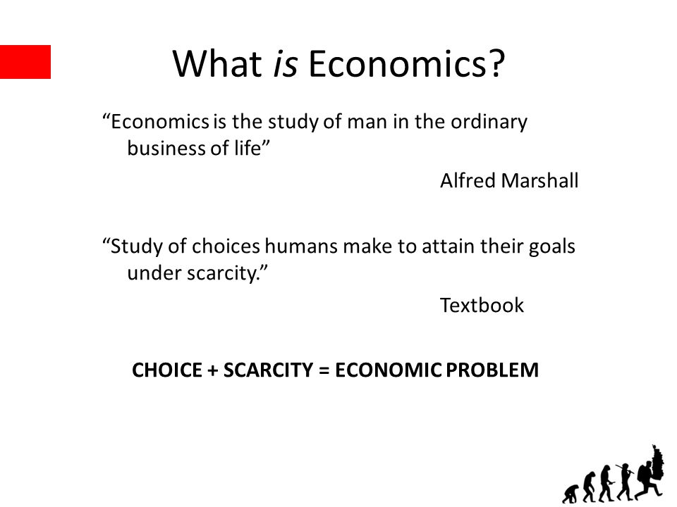 What is Economics.