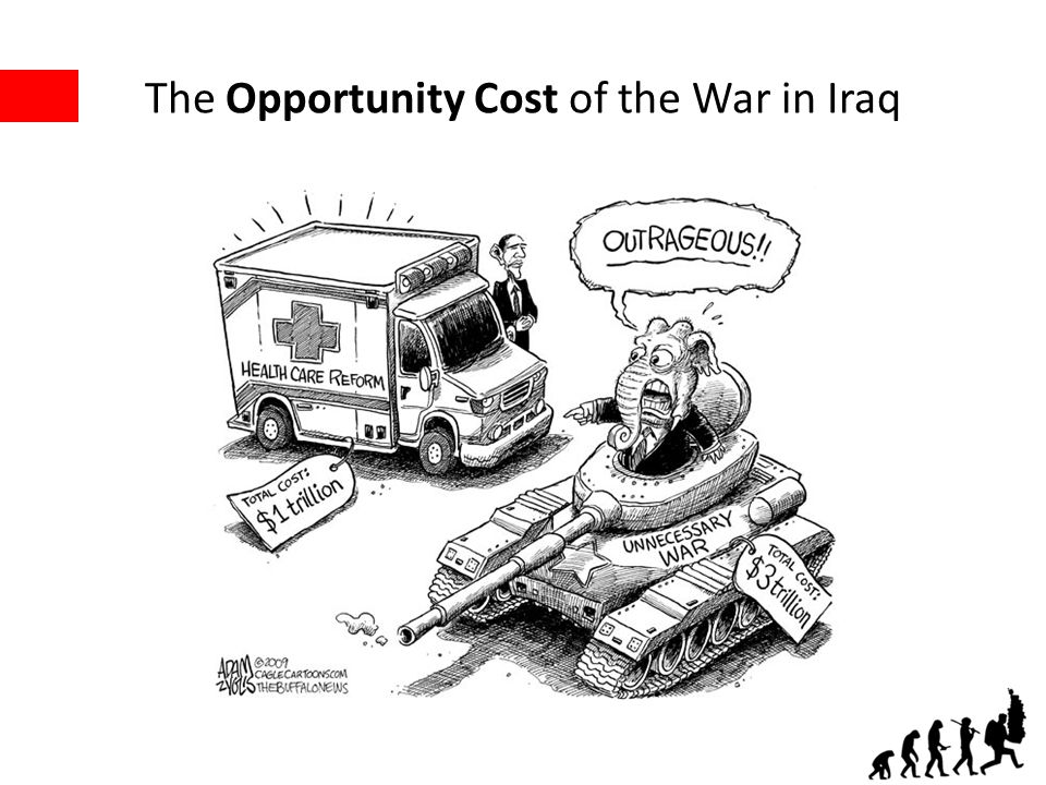 The Opportunity Cost of the War in Iraq